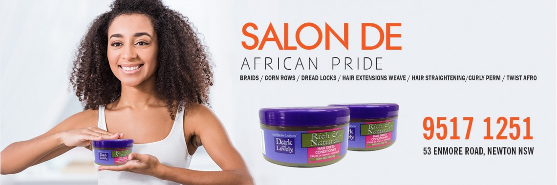 Welcome to Salon De African Pride